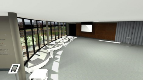 Offices :  Accueil & Meeting-room