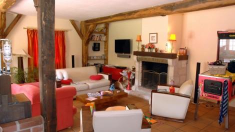 @Saint-Illiers Le Bois, Métamorphose d'une ancienne grange