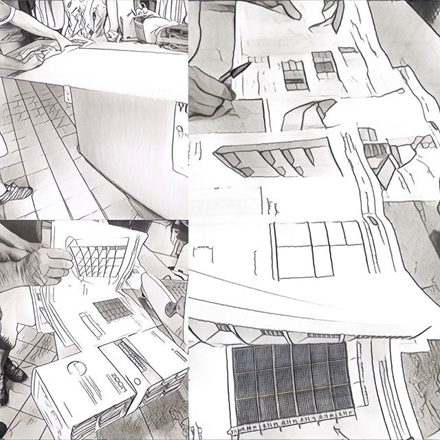 #chantierencours #PressingÉcologique #phase3 #mobiliersurmesure derniers ajustements avant mise en fabrication en atelier #ergonomic #customlayout #ecologicaldrycleaning : last check before manufacturing