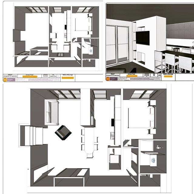 #projetencours #appartement #pumpupthevolume #restructuration #workinprogress #version1.00