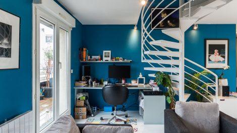 @Asnières-sur-Seine, un duplex familial au rythme Arty Comics