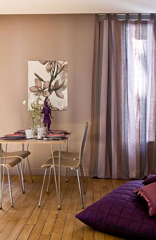 Un appartement vieillot devient une location meublée à Issy-Les Moulineaux - Un espace très libéré -Journal de La Maison  Mars 2011 -Buro2Déco - Crédits Photos Gilles Trillard-004