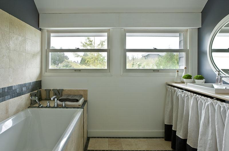Pierre et mosaique ardoise, salle de bains n4 Maison de famille BBC sur mesure BURO2DECO CABOURG TRILLARD 090032