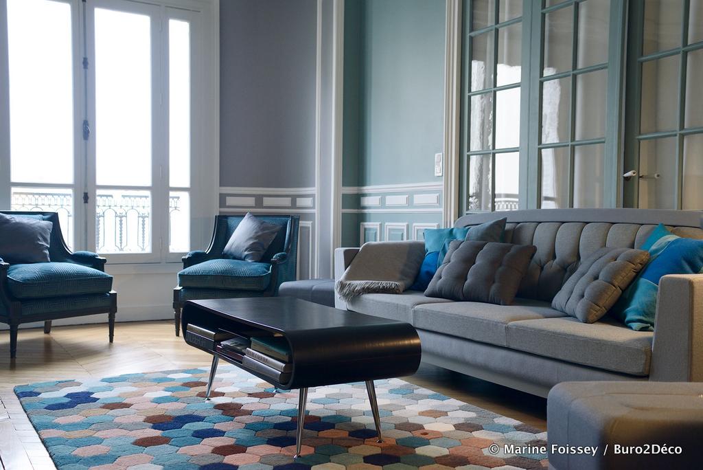 @Paris,un appartement avec un cabinet d'ostéopathie à demeure,  120m2 redistribués pour vivre et travailler.