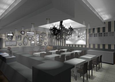 3D Le Bistrot Cafe Restaurant Expos Concert A Saint Du Gard Buro2DecoINT 4 Nuit2