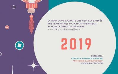 Buro2Déco vous souhaite une #bonneannee2019 avec une autre carte ;) 2019 toujours en Pantone 16-1546 avec plus de contrastes ! Quelle version plaira le plus? Buro2Déco wishes you happy new year #allthebest for 2019. 2019 still in Pantone 16-1546 with others colours! Which the one should be more liked ? #livingcoral #pantone2019 #happynewyear #happycolours #happyspaces #buro2deco